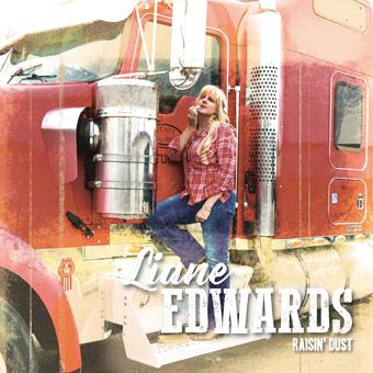 Raisin' Dust-Album Liane Edwards